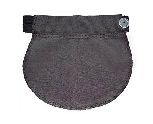 Fascia elastica regolabile cintura premaman gravidanza (grigio scuro)