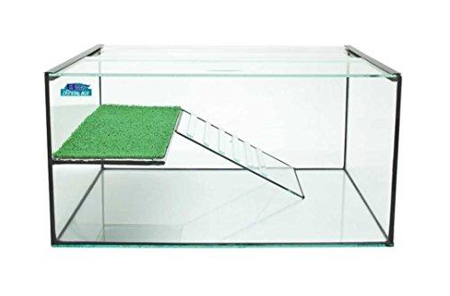 Tartarughiera Blu Bios Florida - Innovativa vasca per tartarughe, realizzata in vetro, disponibile in tre misure (Florida 40) - Tartaruga Di Terra