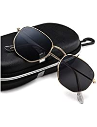 Carlson Raulen Small Classic Square Polygon Round Men Women Sunglasses