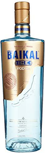 Baikal Ice Vodka, Russischer Premium Wodka Mit Eis Des Baikalsee Hergestellt, 40%