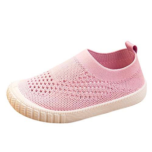 squarex Kids Sneakers Baby Sportschuhe Mädchen Freizeitschuhe Jungen Outdoor Schuhe Kinder Laufschuhe Mesh Sport Single Schuhe (Schuhe 1 Kinder Jungen Größe Vans)