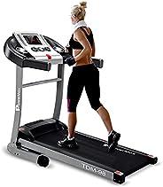 PowerMax Fitness TDM-98 (4HP Peak) Motorized Treadmill with Free Installation, 3 Years Motor Warranty, Home Us