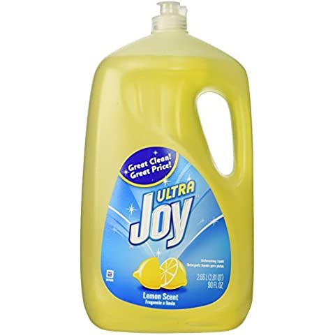 Joy Ultra Dishwashing Liquid, Lemon Scent, 90-ounce by Procter And Gamble