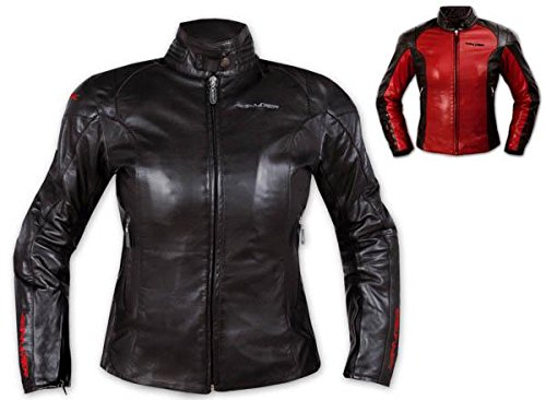 Protezioni termica Moto Donna Pelle Fodera CE Giacca Lady Custom w0IqFxHTCn