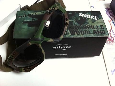 Commando Air Pro Goggles Paintball Tactical Woodland Camo