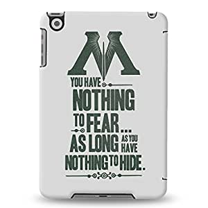 Warner Bros Harry Potter and The Deatly Hallows-Nothing To Fear Back Cover for Apple iPad Mini (Multicolor)