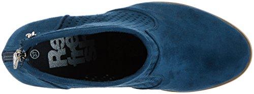 Refresh 63262, Stivali Corti Donna Blu (Jeans)