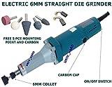 Digital Craft General Tools Electric 6 mm Die Grinder
