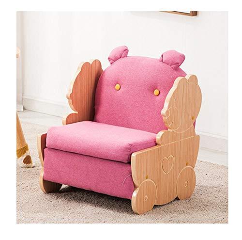 Kindersofa Sitz Junge Massivholz Baby Einzel, Doppel -