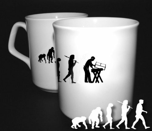 Preisvergleich Produktbild Tischler II Zimmermann Walz tischlerei Evolution Evolution BÜROTASSE BUEROTASSE TASSE KAFFETASSE MUG