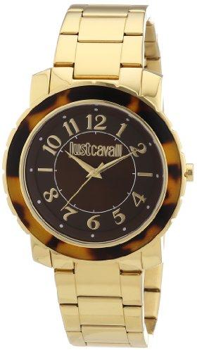 Just Cavalli Reloj Analógico para Mujer de Cuarzo con Correa en Acero Inoxidable Recubierto R7253582501