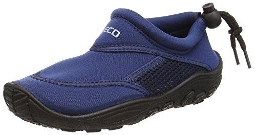 BECO chaussons aquatiques - chaussure de bain chaussures néoprènes pour enfants - Bleu - 24 EU
