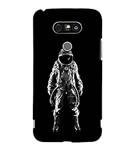 FUSON Astronaut In Space 3D Hard Polycarbonate Designer Back Case Cover for LG G5 :: LG G5 Dual H860N :: LG G5 Speed H858 H850 VS987 H820 LS992 H830 US992