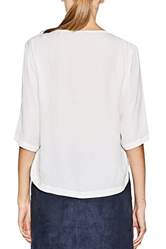ESPRIT Collection Damen Bluse Weiß (Off White 110)