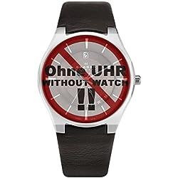 Skagen Watch Strap LB 989XLSLD Original Replacement Strap 989XLSLD 25mm Brown Leather Watch Strap