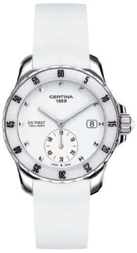 Certina Damen-Armbanduhr XS Analog Quarz Kautschuk C014.235.17.011.00