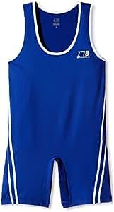 Invincible Wrestling Suit, X-Large (Blue)