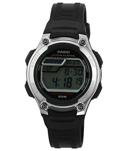 Casio 19222W-212h-1av Unisex Children's Watch rubber strap black