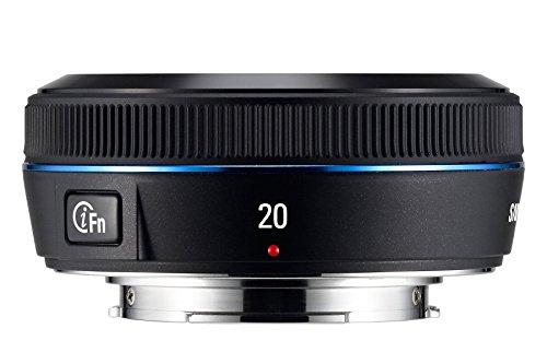 Samsung EX-W20NB i-Function Objektiv 20 mm F2.8 (43 mm Filtergewinde), NX-Serie (Kamera Samsung Nx)