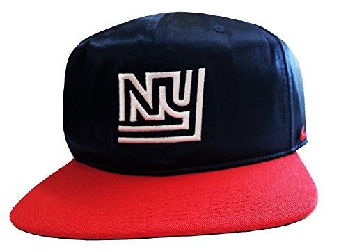 Nike Men's New York Giants Logo Snap-Back Hat Navy/University Red 902093419 - Hat York New University