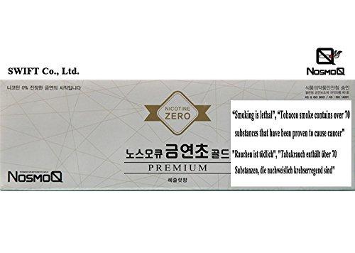 [NosmoQ] Herbal Sticks 1 Karton (10 Packungen) zur Raucherentwöhnung, keine Nikotin, keine Chemikalien für die Gesundheit