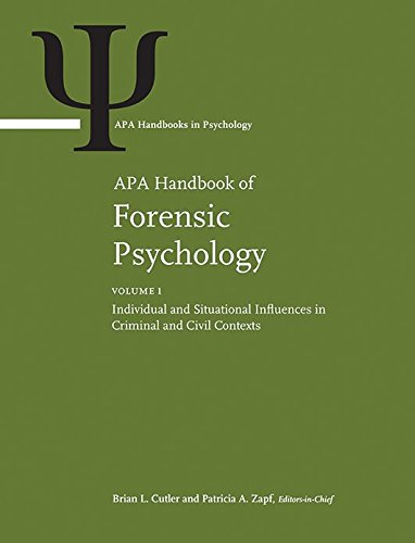 APA Handbook of Forensic Psychology (Apa Handbooks in Psychology)