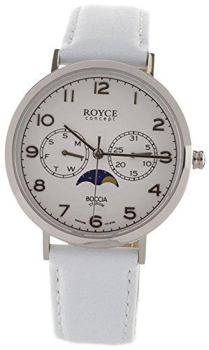 Boccia Reloj Analógico para Hombre de Cuarzo con Correa en Cuero 3612-01