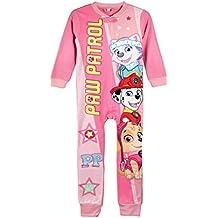 22-1727 Pijama entero Paw PATROL para niña con forro polar suave de 3 a