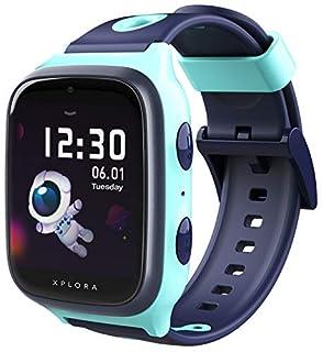 XPLORA 4: wasserdichte Telefon-Uhr mit GPS-Tracker für Kinder