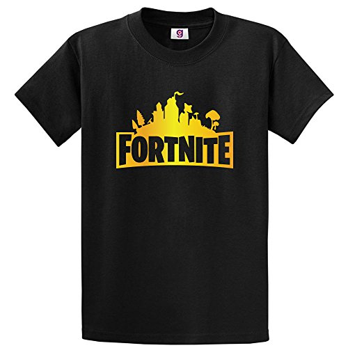 Graphic Impact Funny Fortnite Gold Edition Fortnite Logo Battle Royale T-Shirt