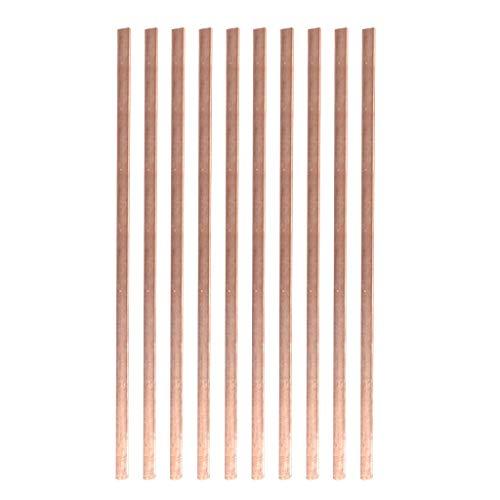 TianranRT❄ Schweißstab,Hochwertige Elektrode Zum Schweißen Geeignet Spezialschweißen Schweißwerkzeuge Robust Und Langlebig,Braun (Uhr Wels)