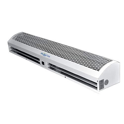 DZWSD 1400-2400 CFM Innen luftschleier/kommerzieller Luftschleier/Druckschalter mit einem Knopfdesign / 2-Geschwindigkeitsfunktion/Metallgehäuse/leicht zu waschen und zu waschen 90/120 / 150cm -