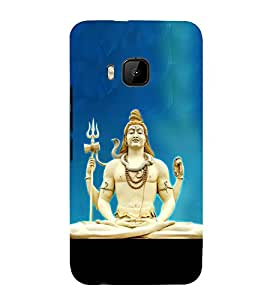 Lokapal 3D Hard Polycarbonate Designer Back Case Cover for HTC One M9 :: HTC M9 :: HTC One Hima