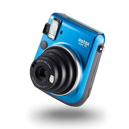 instax mini 70 camera with 10 shots, Island Blue