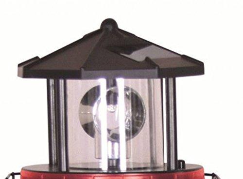 Signalkopf Solaraufsatz für Leuchtturm Höhe ca. 11cm Durchm. ca. 10 cm 2493