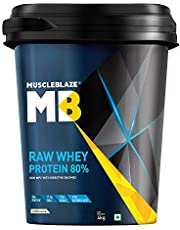 MuscleBlaze Raw Whey Protein 8.8 lb Unflavoured