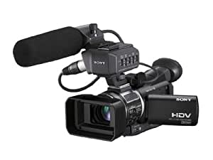 Sony HVR-A1E Handheld camcorder 3MP CMOS HD Black hand-held camcorder - camcorders (3 MP, CMOS, 10x, 10x, Memory card, MS Duo)
