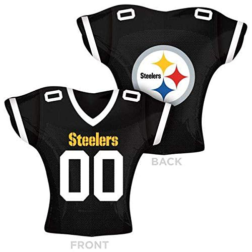 2617001 Pittsburgh Steelers Jersey Supershape, 61 cm farbenreiche ()
