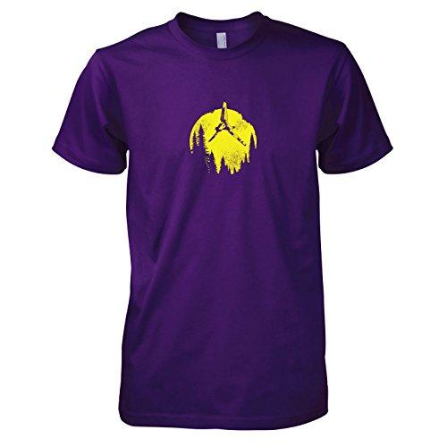 TEXLAB - SW: Endor Flight - Herren T-Shirt, Größe XXL, ()