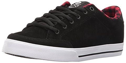 C1RCA Lopez 50, Chaussures de Gymnastique mixte adulte - noir - Black/Plaid, 41 EU F EU