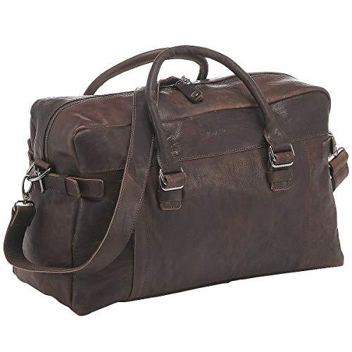 Harold's R.Johnson Sac de voyage cuir 50 cm braun