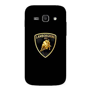 Cute Lambo Golden Back Case Cover for Galaxy Ace 3