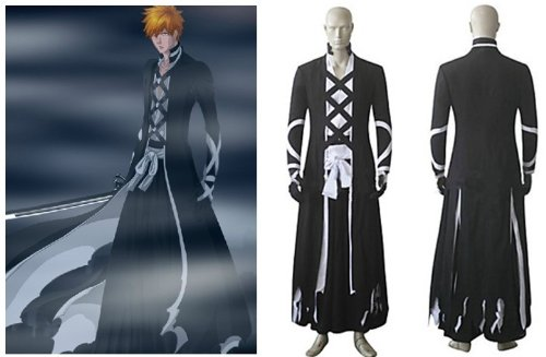 Bleach Kurosaki ichigo Cosplay kostum ,Maßgeschneiderte,Größe S: Höhe ()