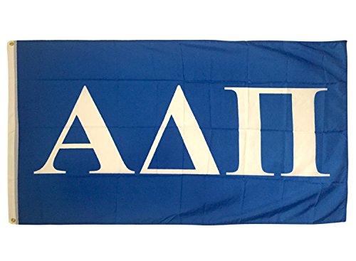 Desert Cactus Alpha Delta PI Buchstabe Sorority Flagge Griechischen Buchstaben Verwenden als Großes Banner 3x 5Fuß ADPi - Geschenke Delta Sorority Delta Delta