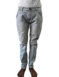 Style Rocks Men's Casual Cotton Regular Fit Jeans (SRJ-09_Blue)