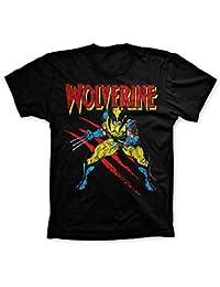Fashion Men Offiziell Lizenziert Marvel X-Men Wolverine Kratzern T-Shirt 82c6f188f75