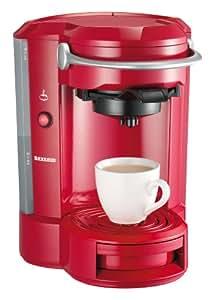 Severin KA 5156  Kaffee-Padautomat, rot