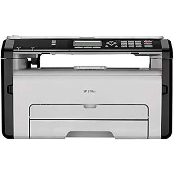 Ricoh SP210SU Monochrome Multi-Function Laser Printer (White)