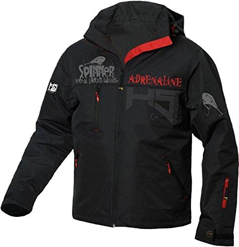 Hotspot Design Angler Jacke 'Spinning Adrenaline',schwarz