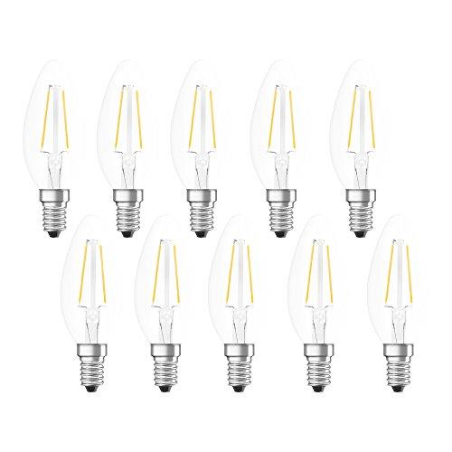 Neolux LED-Lampe | Sockel E14 |Warm White (2700 K) | ersetzt Glühlampen mit 25 W | 2,80 W | Klar | -